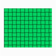 Spring Green Weave Glasses Cloth (Small, Two Sided)