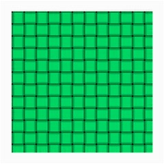 Spring Green Weave Glasses Cloth (Medium, Two Sided)
