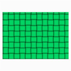 Spring Green Weave Glasses Cloth (large)