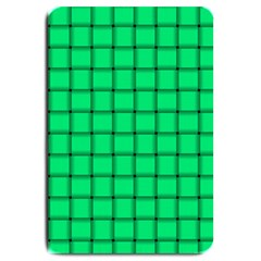 Spring Green Weave Large Door Mat