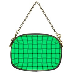 Spring Green Weave Chain Purse (Two Side)