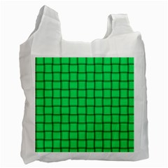 Spring Green Weave Recycle Bag (One Side)