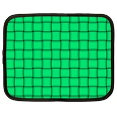 Spring Green Weave Netbook Case (xxl)