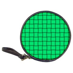 Spring Green Weave Cd Wallet