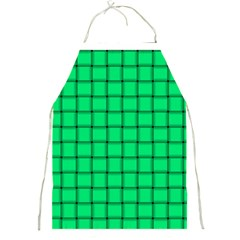 Spring Green Weave Apron