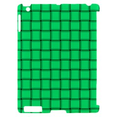 Spring Green Weave Apple iPad 2 Hardshell Case (Compatible with Smart Cover)