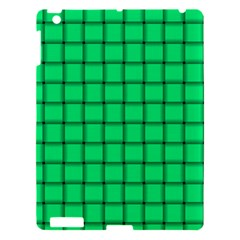 Spring Green Weave Apple Ipad 3/4 Hardshell Case
