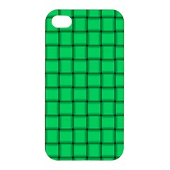 Spring Green Weave Apple iPhone 4/4S Premium Hardshell Case