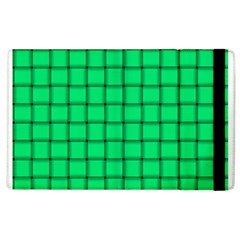 Spring Green Weave Apple Ipad 2 Flip Case