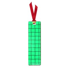 Spring Green Weave Small Bookmark