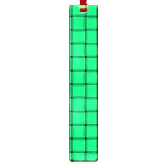 Spring Green Weave Large Bookmark