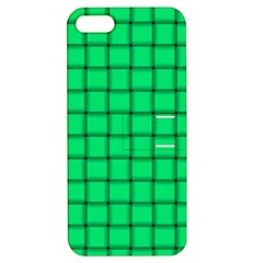 Spring Green Weave Apple iPhone 5 Hardshell Case with Stand