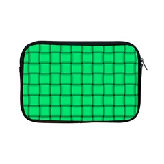Spring Green Weave Apple iPad Mini Zipper Case