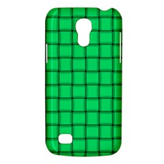 Spring Green Weave Samsung Galaxy S4 Mini Hardshell Case