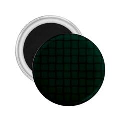 Dark Green Weave 2.25  Button Magnet