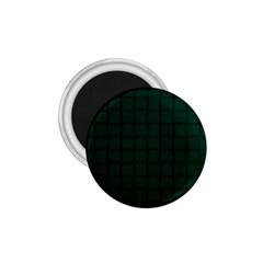 Dark Green Weave 1.75  Button Magnet