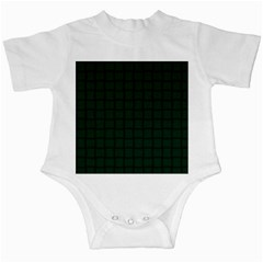 Dark Green Weave Infant Creeper
