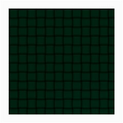 Dark Green Weave Glasses Cloth (Medium, Two Sided)