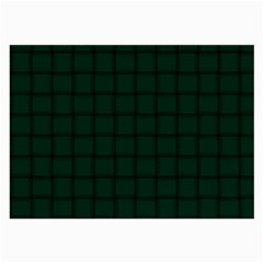 Dark Green Weave Glasses Cloth (Large, Two Sided)
