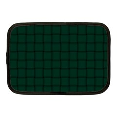 Dark Green Weave Netbook Case (Medium)