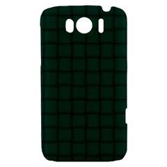 Dark Green Weave HTC Sensation XL Hardshell Case