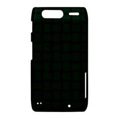 Dark Green Weave Motorola Droid Razr XT912 Hardshell Case