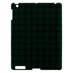 Dark Green Weave Apple Ipad 3/4 Hardshell Case