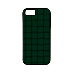 Dark Green Weave Apple iPhone 5 Classic Hardshell Case (PC+Silicone)