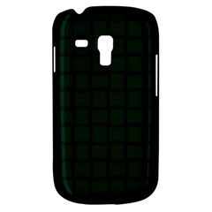Dark Green Weave Samsung Galaxy S3 Mini I8190 Hardshell Case