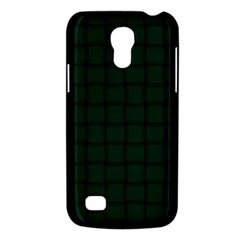 Dark Green Weave Samsung Galaxy S4 Mini Hardshell Case