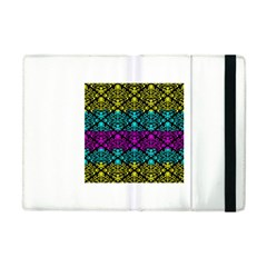 Cmyk Damask Flourish Pattern Apple iPad Mini Flip Case