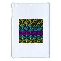 Cmyk Damask Flourish Pattern Apple iPad Mini Hardshell Case