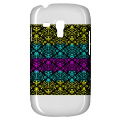 Cmyk Damask Flourish Pattern Samsung Galaxy S3 MINI I8190 Hardshell Case