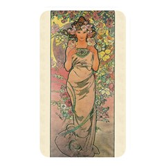 Die Rose By Alfons Mucha 1898 Memory Card Reader (Rectangular)