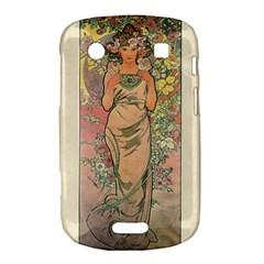 Die Rose By Alfons Mucha 1898 BlackBerry Bold Touch 9900 9930 Hardshell Case