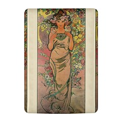Die Rose By Alfons Mucha 1898 Kindle 4 Hardshell Case