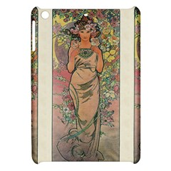 Die Rose By Alfons Mucha 1898 Apple iPad Mini Hardshell Case