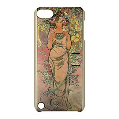 Die Rose By Alfons Mucha 1898 Apple iPod Touch 5 Hardshell Case with Stand