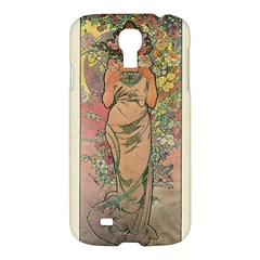 Die Rose By Alfons Mucha 1898 Samsung Galaxy S4 I9500 Hardshell Case