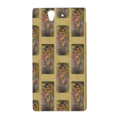 Die Rose By Alfons Mucha 1898 Sony Xperia Z L36H Hardshell Case