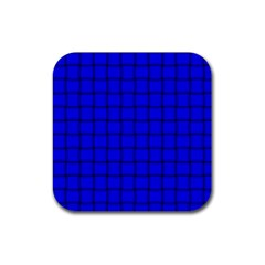 Blue Weave Drink Coasters 4 Pack (Square)