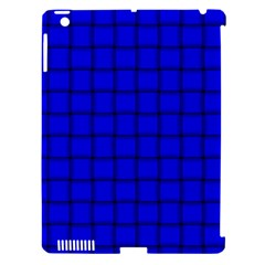 Blue Weave Apple iPad 3/4 Hardshell Case (Compatible with Smart Cover)