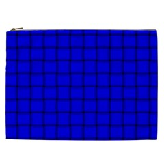 Blue Weave Cosmetic Bag (xxl)
