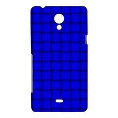 Blue Weave Sony Xperia T Hardshell Case
