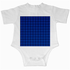 Cobalt Weave Infant Creeper