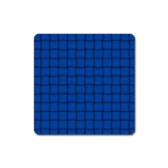 Cobalt Weave Magnet (Square)