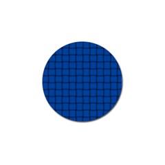 Cobalt Weave Golf Ball Marker 4 Pack