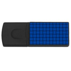 Cobalt Weave 2GB USB Flash Drive (Rectangle)