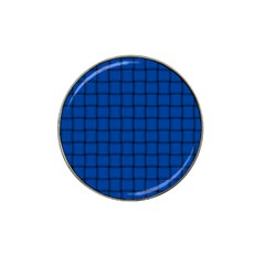 Cobalt Weave Golf Ball Marker (for Hat Clip)
