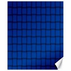 Cobalt Weave Canvas 16  x 20  (Unframed)